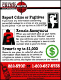 Crime Stoppers Brochure